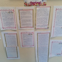 5th class wrote amazing narrative stories!