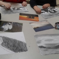 charcoal 6th class