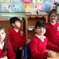 Senior Infants at play