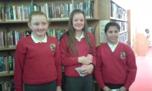 Gort NS 6th class debating team