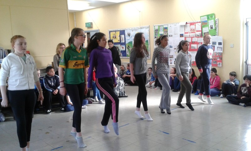 Irish dancing. 6th class