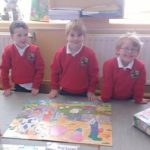 Early days in Junior Infants 2016.