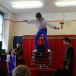 The Circus comes to Gort National School