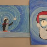 Christmas painitings 6th class