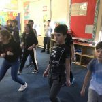 Creative Dance in Fifth Class😍