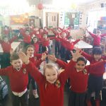 Active Flag from Junior Infants