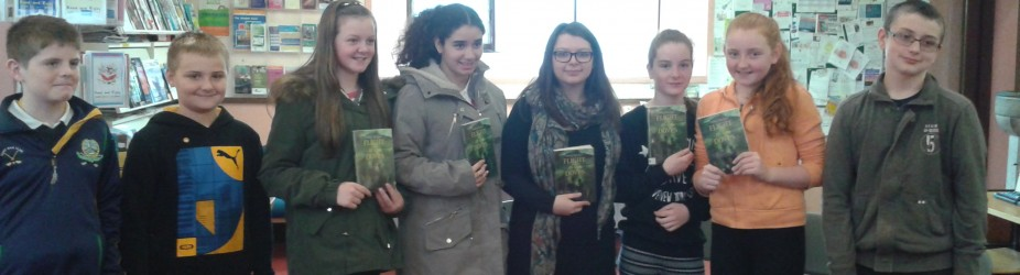 Visit to the Library with Ciara Murphy