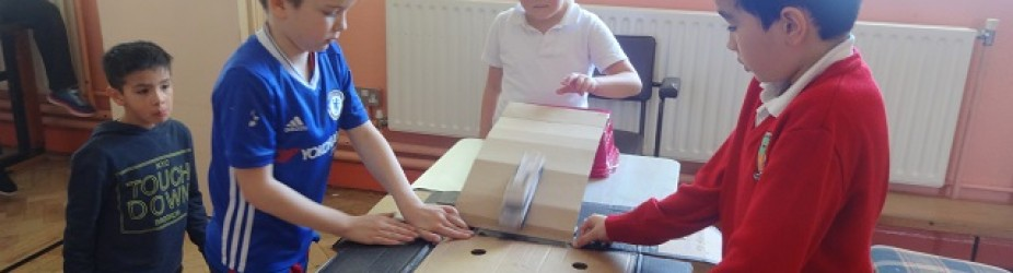 2nd Class Science experiment