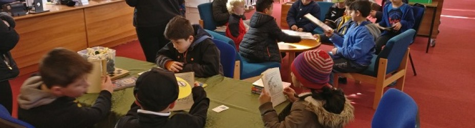 2nd Class visit to Gort Library
