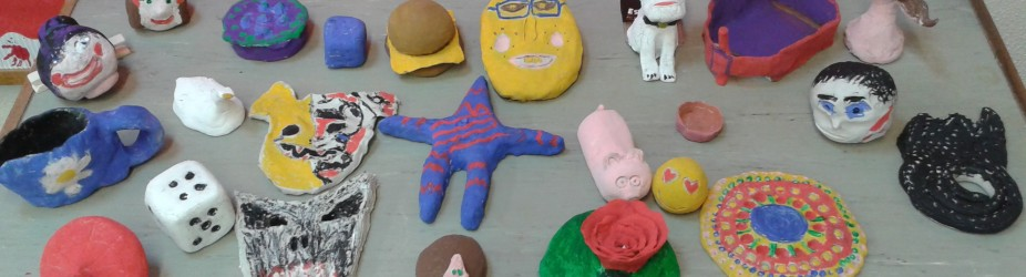 Clay Creations from our 6th Class
